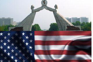 В арке воссоединения двух Корей нет места США. Источники фото: cdni.rt.com, pinimg.com