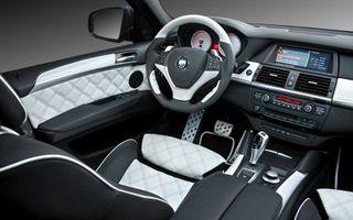 Компания BMW презентовала новое поколение кроссоверов X6