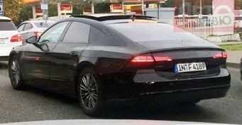 В Москве запечатлели Audi A7 во время тестов