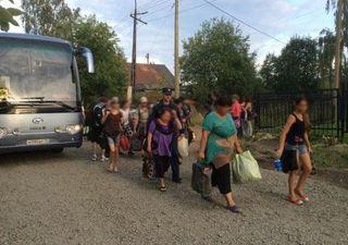 Украинские беженцы уезжают из Карелии