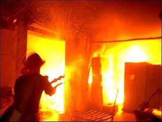 Жертвами пожара на Урале стали четыре ребенка