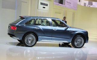 Bentley выпустит самый быстрый внедорожник в мире