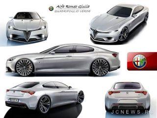Руководство «Alfa Romeo» напомнило о скором выходе нового седана «Giulia»