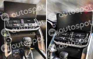 Интерьер Toyota Land Cruiser 300. Источник: Autospot