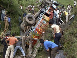 В ДТП в Сальвадоре пострадали 32 человека, из них 8 погибли