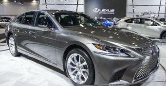Новый гибридный седан Lexus LS 500h 2018 представлен в Ванкувере