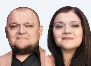 Сравнение Михаила Стогниенко сего женским прообразом / Фото: pokatim.ru