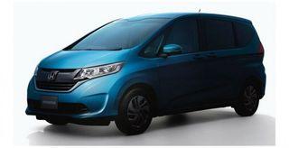 Рассекречена внешность нового поколения Honda Feed