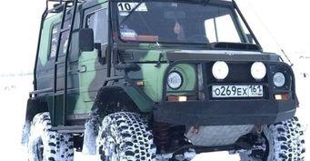 Двигатель «Приоры», внешность «танка»: ЛуАЗ-969 «настероидах» представил механик