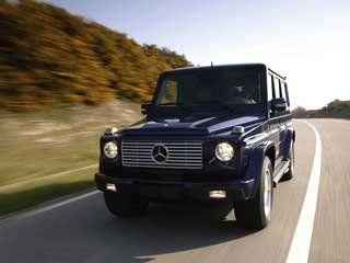 Предстал взору новый «Mercedes G-Class»