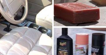 Мыло или спецсредства: В Сети показали 2 метода привести в порядок кожаный салон