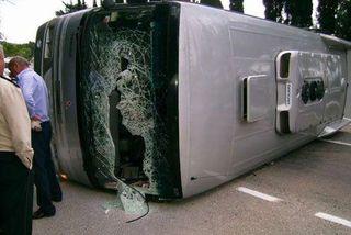В Словакии погибли 4 школьницы в ДТП с участием автобуса