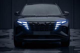 Фото: «передок» Hyundai Tuscon нового поколения, источник: Hyundai