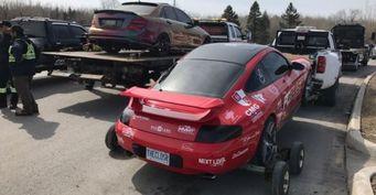 В Канаде полицейские конфисковали боле 10 люксовых спорткаров