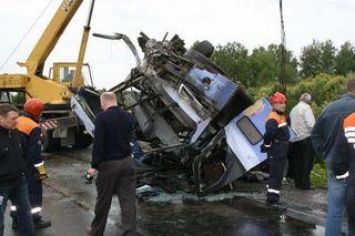 В ДТП в Кемеровской области погибли четыре человека
