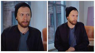 Кадры интервью Григория Калинина наYouTube-канале «Интервью ВОКРУГ ТВ»