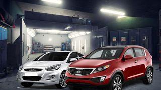 Hyundai Solaris иKIA Sportage. Коллаж: портал «Покатим»