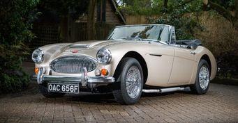 На аукционе Classic Car Auctions продадут Austin-Healey 3000 MK III за 112000$