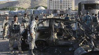 В Афганистане пострадали 2 американца из-за нападения на авто консульства США