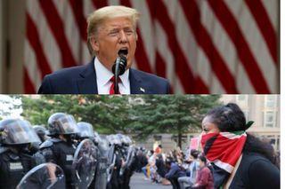 Всё равно белые или чёрные. Трамп пошёл в атаку против преступников. Источники фото: dw.com
