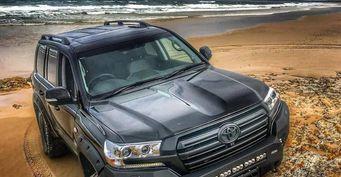 «Внедорожнее» некуда: Представлен Toyota Land Cruiser 200 в offroad-обвесе