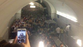 Все пассажиры были извлечены из сошедших с рельсов вагонов метро