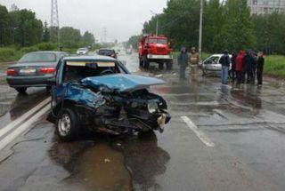 В Ижевске в ДТП серьезно пострадал 6-летний мальчик