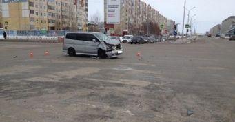 В Нижневартовске в ДТП пострадали четверо пассажиров маршрутки