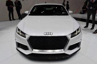 На женевском автосалоне представлен спорткар Audi TT Quattro Sport Concept