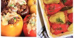 Фаршированные перцы. Лайфхаки от известных поваров