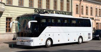 Аренда автобуса с водителем в СПб