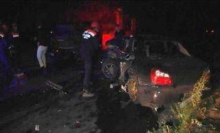В Алмате произошло ДТП, погибли два человека