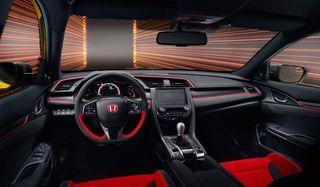 Фото: интерьер Honda Civic Type R, источник: Honda