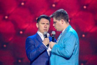 Фрагмент выступления Батрутдинова иХарламова насцене Comedy Club