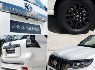 Детали экстерьера Toyota Land Cruiser Prado Black Pack, источник: Toyota