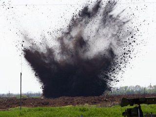 Снаряды украинских военных попали на территорию российского хутора