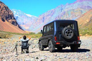Фото: УАЗ «Хантер» для Чили, источник: UAZ
