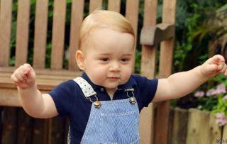 Сегодня первый день рождения принца Джорджа