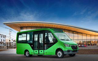 новый городской автобуса «GAZelle City»