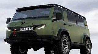 Новая УАЗ «Буханка», источник: УАЗ