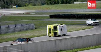 Представлен гоночный фургон Volkswagen, ездящий на боку
