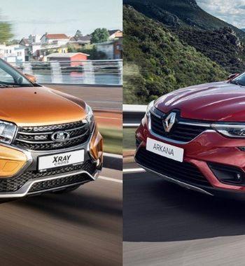 «АвтоВАЗ» дышит вспину французам: Сравниваем «соплатформенники» LADA XRay Cross иRenault Arkana