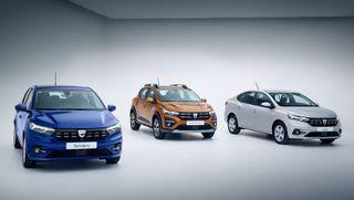 Фото: Renault Sandero, Sandero Stepway иLogan 2021, источник: Renault