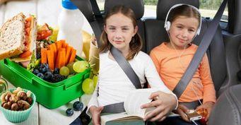 Чем накормить ребенка в дороге, сохранив здоровье желудка