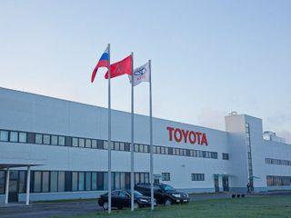 Завод Toyota в Петербурге закрылся на летние каникулы