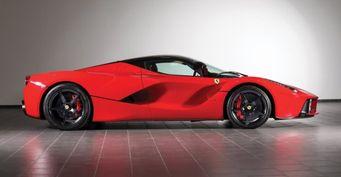 Редкий Rosso Scuderia Ferrari Enzo выставлен на торги