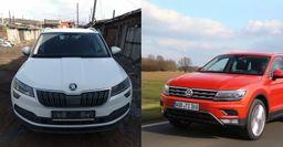 Купил Skoda Karoq вместо Volkswagen Tiguan: Владелец сравнил авто по шести параметрам