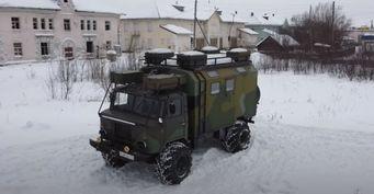 Купил «Шишигу»— пережил 2020: Автодом изГАЗ-66 за600тыс. рублей показал блогер