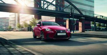 Открыт прием заказов на обновленный Lexus IS