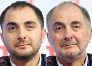 Демис Карибидис сейчас и в пожилом возрасте / Фото: pokatim.ru